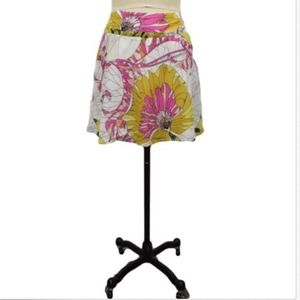 Leifnotes Anthropologie Floral Skirt Size 6
